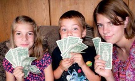 L'argent de nos enfants