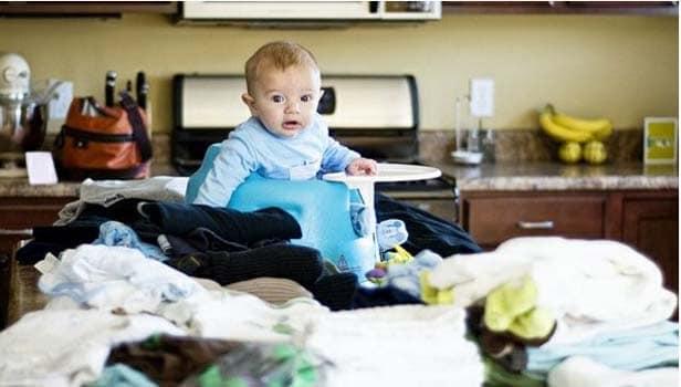Mamans solos: comment ne pas se laisser déborder par son linge ?