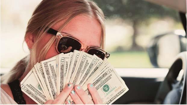 Ne pas être anxieuse à cause de l'argent.