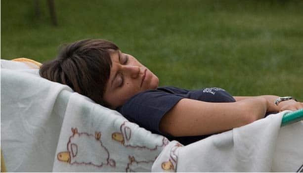 Une mère célibataire fatigue plus qu'une autre.